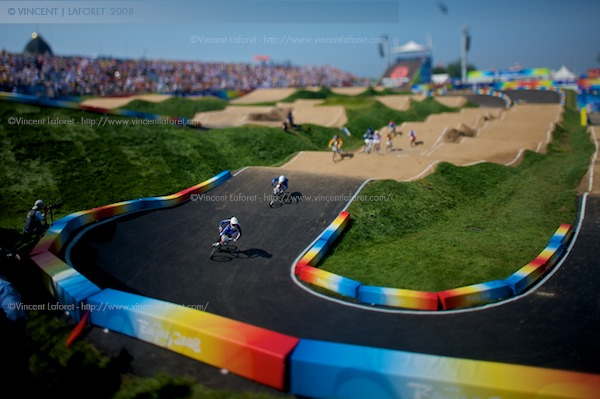 A slightly different moment shot with a tilt-shift lens. Photograph by Vincent Laforet for NEWSWEEK