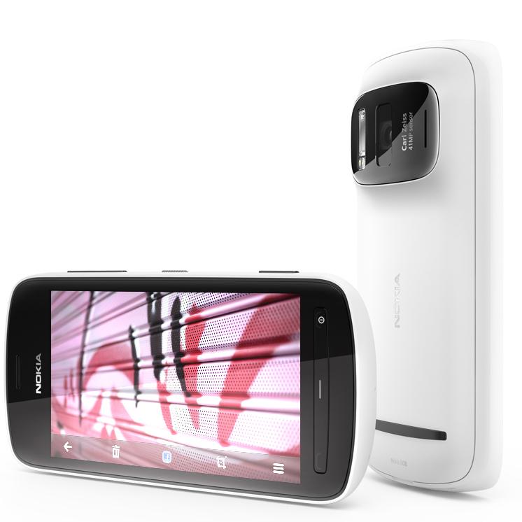 ������ �������� ��� ������ ������� Nokia 808 PureView vs Nokia N8