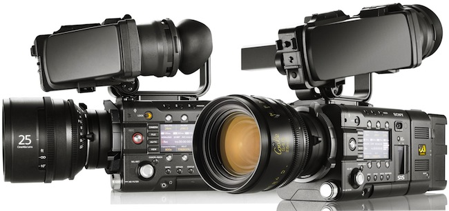 Sony F5 and F55 cameras