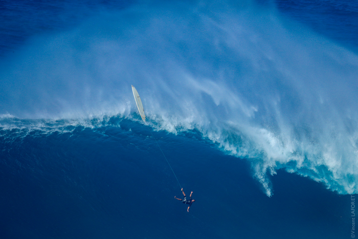 Tom Dosland at JAWS. Photo by Vincent Laforet