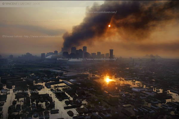 Hurrican Katrina - ©Vincent Laforet/The New York Times