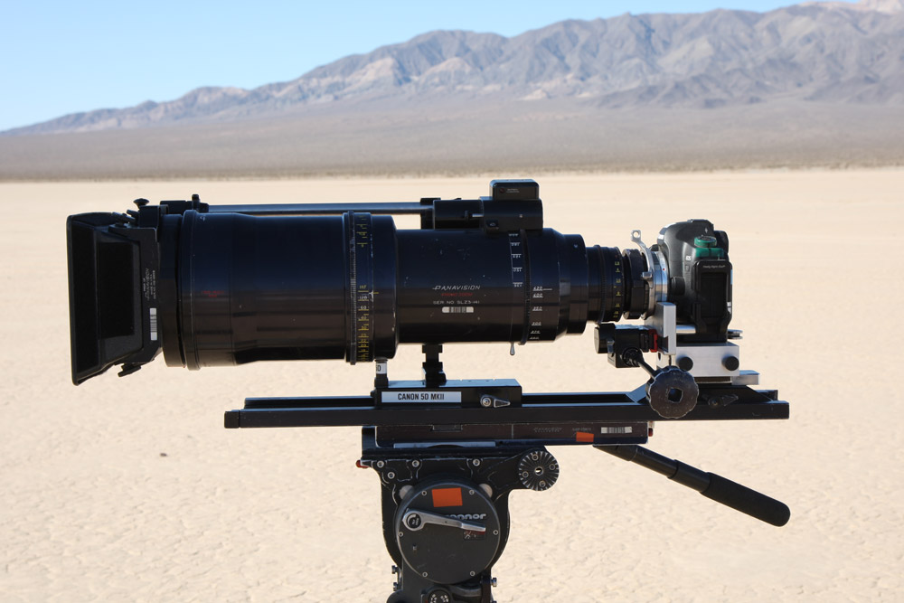 Shane Hurlbut coupled a Canon 5D MKII to a Panavision Primo Prime.